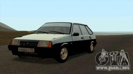VAZ 2109 para el original para GTA San Andreas
