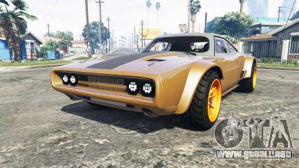Dodge Charger Fast & Furious 8 [add-on] para GTA 5
