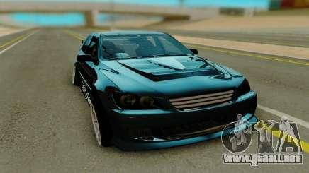 Toyota Altura, negro para GTA San Andreas