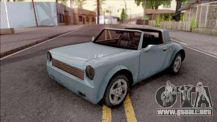 Comet Mini para GTA San Andreas