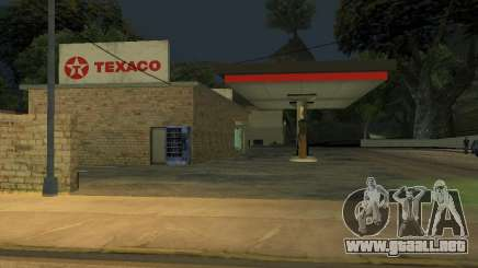 Texaco Gas Station para GTA San Andreas