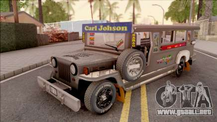Galvanized Jeepney para GTA San Andreas
