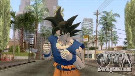 Goku Ultra Instinct Skin para GTA San Andreas