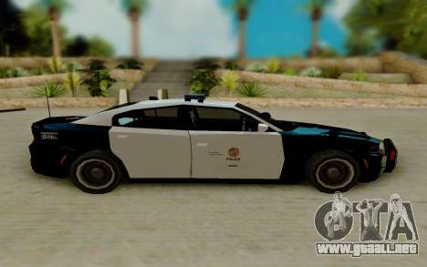 Dodge Charger SRT8 Hellcat 2015 para GTA San Andreas left