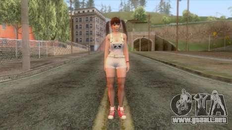 Dead Or Alive 5 Lei Fang para GTA San Andreas