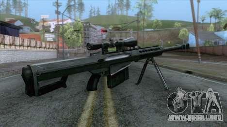 Barrett M82A1 Anti-Material Sniper Rifle v1 para GTA San Andreas