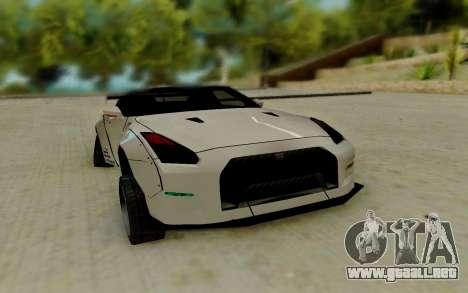 Nissan GTR R35 para GTA San Andreas