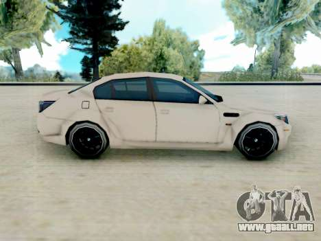 BMW M5 E60 Lumma Edition para GTA San Andreas left
