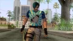 Leon Cat Lover Skin para GTA San Andreas