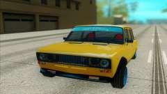 VAZ 2106 amarillo para GTA San Andreas