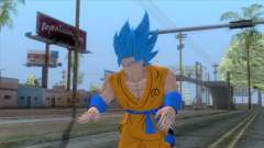 Goku SSJ2 Blue Skin para GTA San Andreas