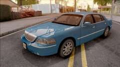 Lincoln Town Car L Signature 2010 HQLM para GTA San Andreas