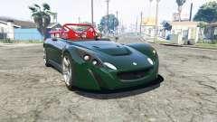 Lotus 2-Eleven 2009 [replace] para GTA 5