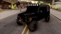 Jeep Wrangler Rubicon Off-Road para GTA San Andreas