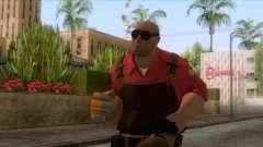Team Fortress 2 - Engineer Skin v2 para GTA San Andreas