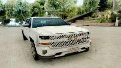Chevrolet SIlverado 2017 Undercover Police para GTA San Andreas