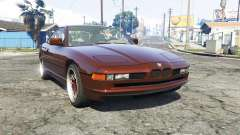 BMW 850i (E31) [replace] para GTA 5
