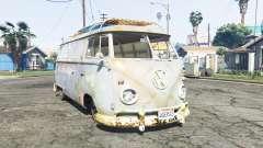Volkswagen Typ 2 (T1) 1960 rat [replace] para GTA 5