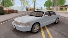 Lincoln Town Car L Signature 2010 IVF No Dirt para GTA San Andreas
