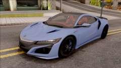 Acura NSX 2016 para GTA San Andreas