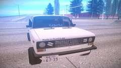 VAZ 2106 blanco para GTA San Andreas