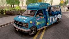 GTA V Brute Tour Bus para GTA San Andreas
