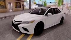 Toyota Camry 2018 para GTA San Andreas