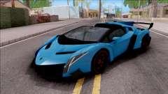 Lamborghini Veneno Roadster para GTA San Andreas