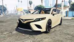Toyota Camry XSE 2018 [add-on] para GTA 5