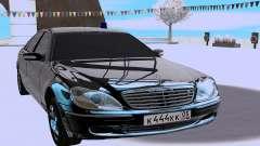 Mercedes-Benz S-class W220 para GTA San Andreas