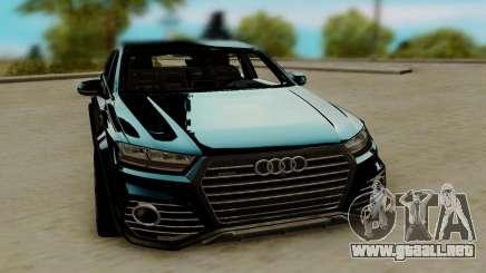 Audi QS7 ABT para GTA San Andreas