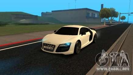 Audi R8 V10 Armenian para GTA San Andreas
