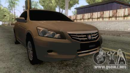 Honda Accord 2012 para GTA San Andreas