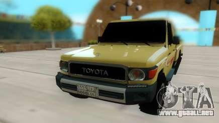 Toyota Land Cruiser Pickup para GTA San Andreas