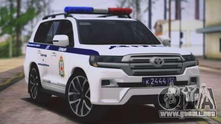 Toyota Land Cruiser 200-DPS región de Nizhny Novgorod para GTA San Andreas