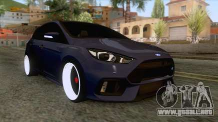 Ford Focus RS Hatchback 2017 para GTA San Andreas