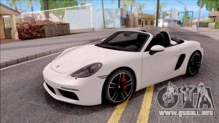 Porsche Boxter S 2017 para GTA San Andreas