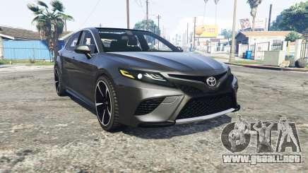 Toyota Camry XSE 2018 [replace] para GTA 5