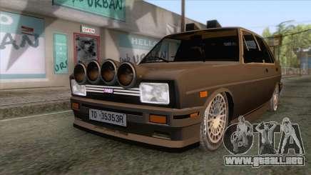 Tofas 131 Rallye v1 para GTA San Andreas