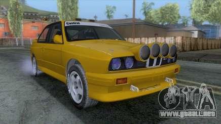 BMW M3 E30 1986 v1 para GTA San Andreas