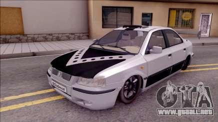 Iran Khodro Samand LX Full Sport para GTA San Andreas