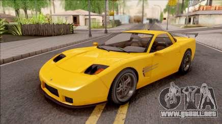 GTA IV Invetero Coquette IVF para GTA San Andreas