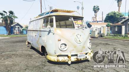 Volkswagen Typ 2 (T1) 1960 rat [replace] para GTA 5