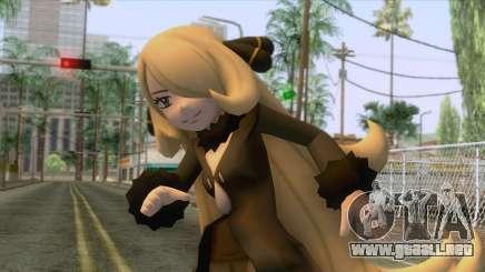 Cynthia Pokemon Skin para GTA San Andreas
