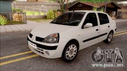 Renault Clio blanco para GTA San Andreas