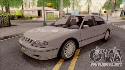 GTA IV Willard Solair Sedan para GTA San Andreas
