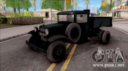 El GAS-410 de 1940 para GTA San Andreas