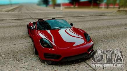 Porsche Cayman para GTA San Andreas