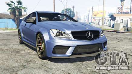 Mercedes-Benz C63 AMG (C204) 2012 v1.1 [replace] para GTA 5