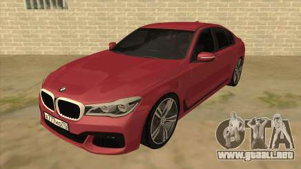 BMW 7-Series M Sport para GTA San Andreas